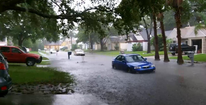 Vehicle Flooded in New Orleans