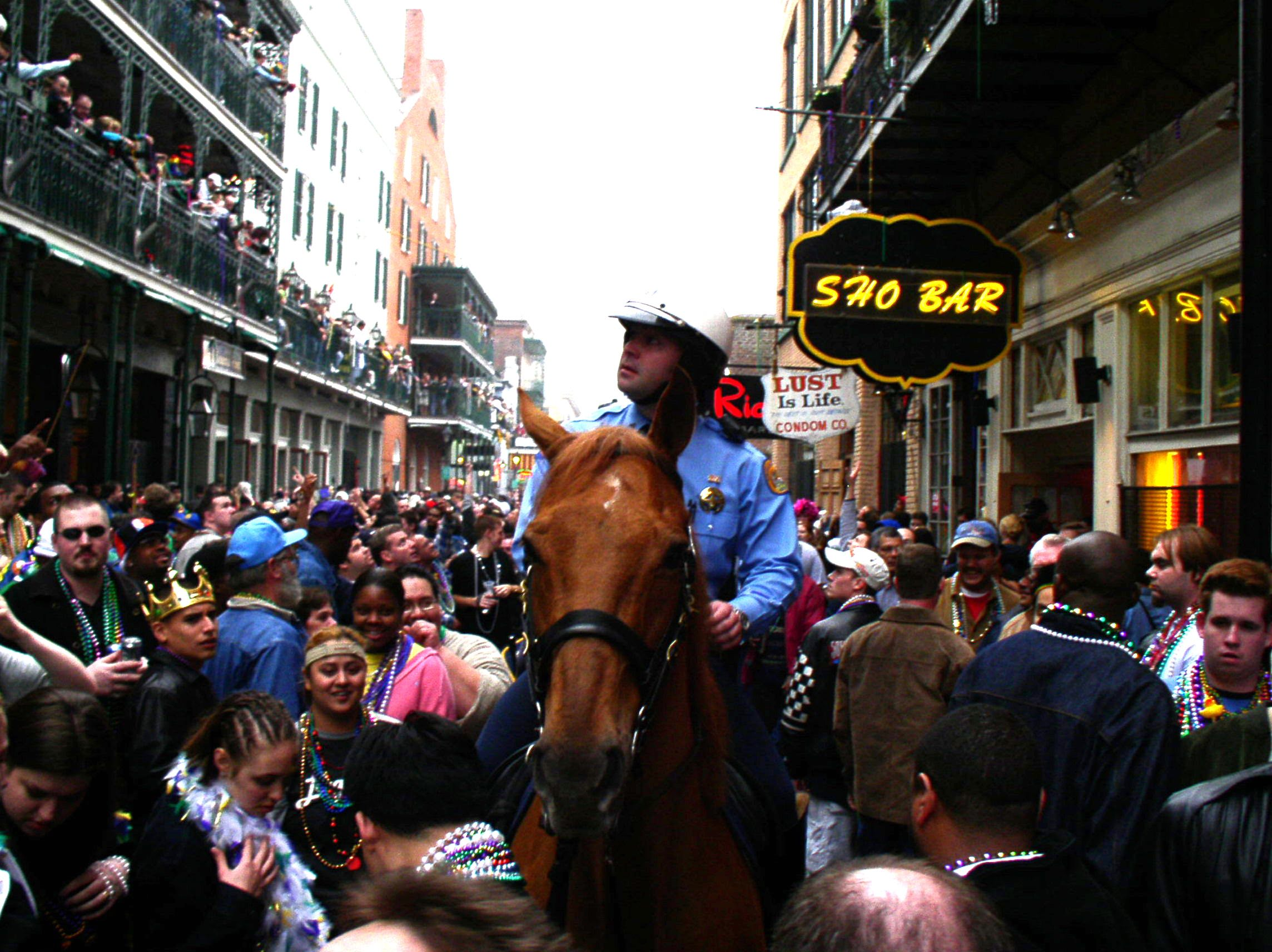 Arrested During Mardi Gras